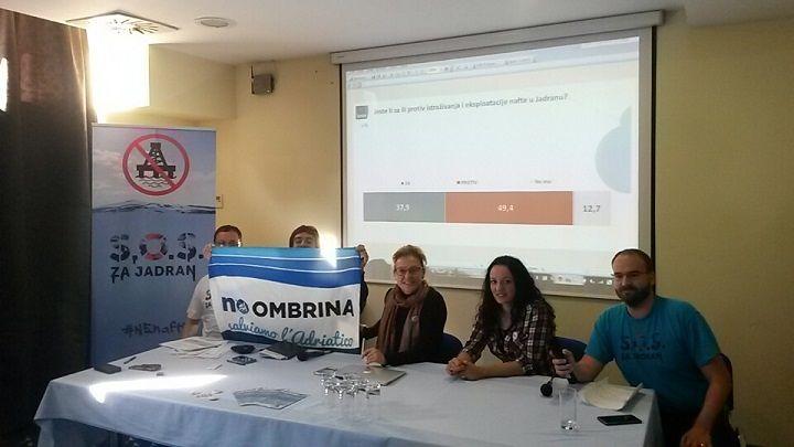 Ombrina, si riuniscono a Spalato associazioni di 5 nazioni per salvare l'Adriatico dalle trivelle