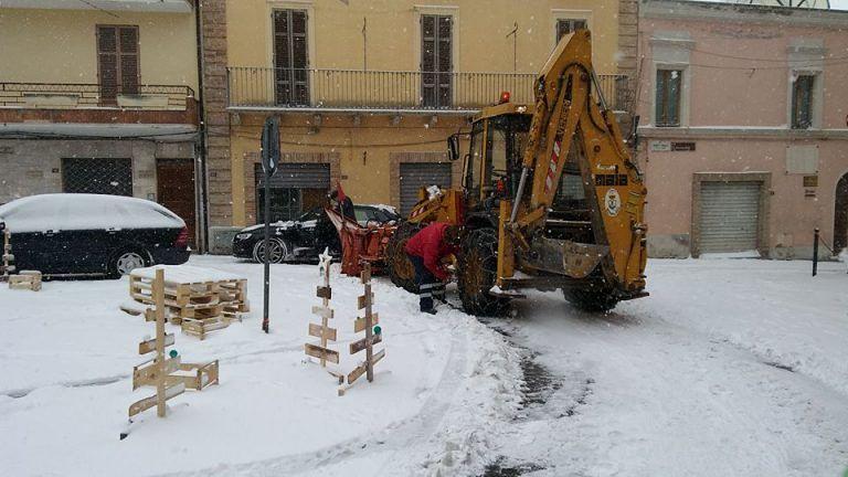 Neve, l'Abruzzo dichiara lo stato di emergenza