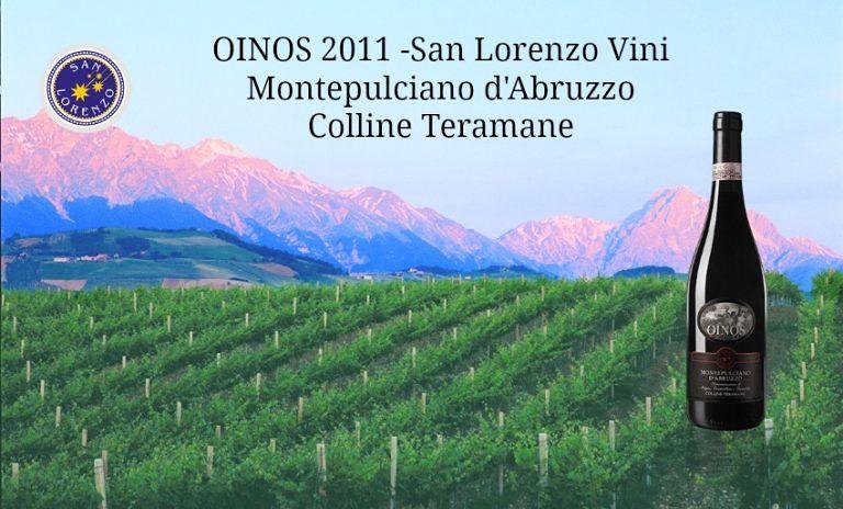 """San Lorenzo Vini, l'Oinos Riserva 2011 riceve il premio """"4 Viti"""" da Associazione Italiana Sommelier"""