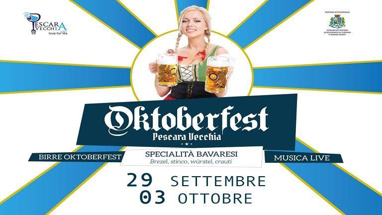 Pescara, tutto pronto per l'Oktober-Fest