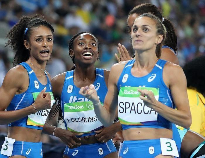 Olimpiadi, l'aquilana Spacca nella finale 4×400