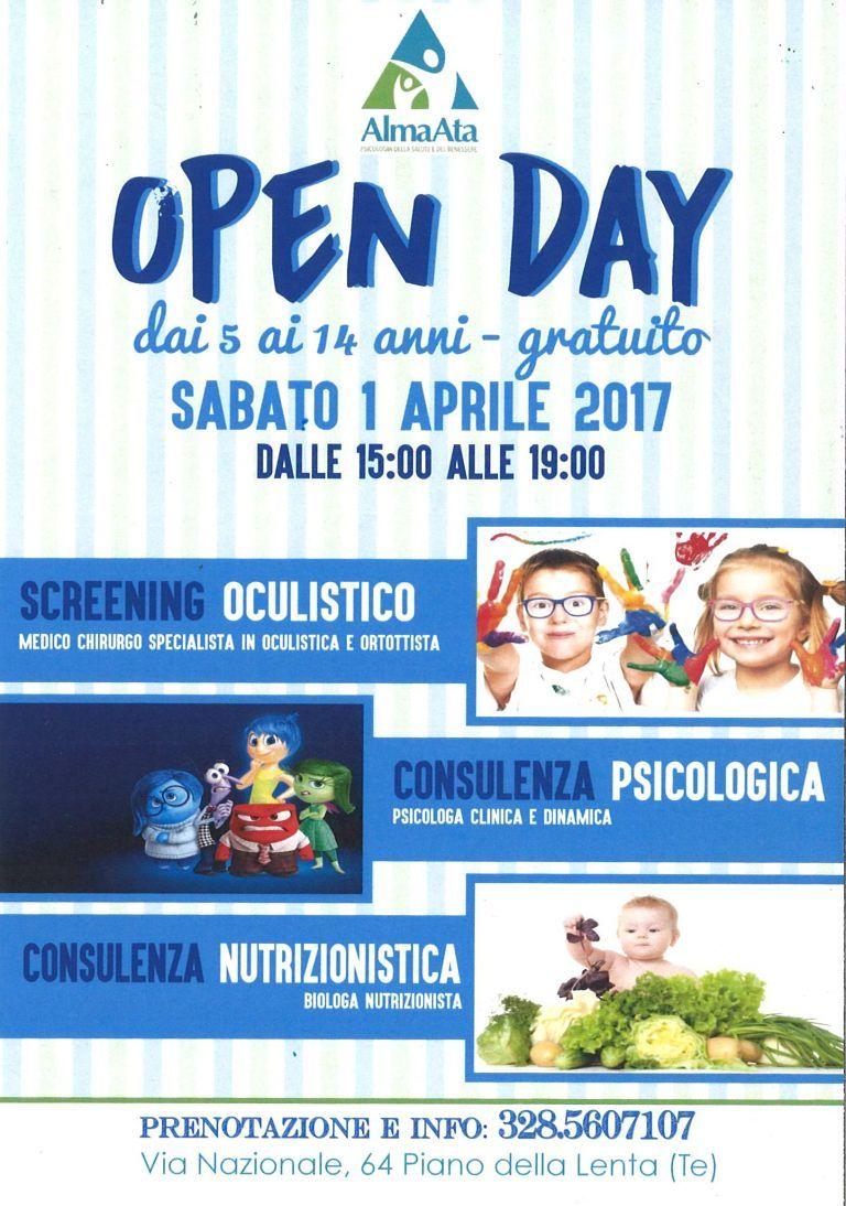 Open day gratuito al Centro AlmaAta: scopri tutte le opportunità | Piano della Lenta (Teramo)