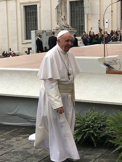 Balneari abruzzesi in udienza da Papa Francesco (FOTO)