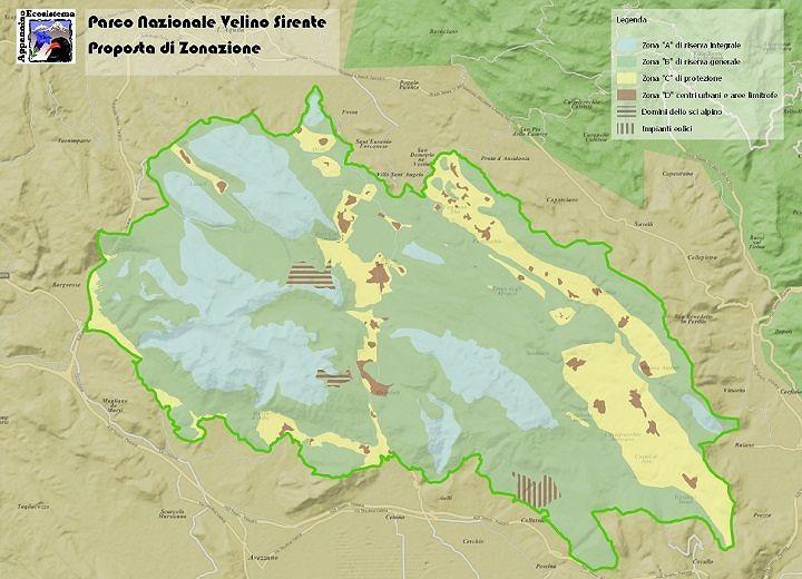 Verso Parco Nazionale Velino Sirente: Appennino Ecosistema presenta la zonazione