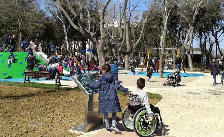 Montesilvano, il Parco Le Vele diventa inclusivo: giochi per tutti i bimbi