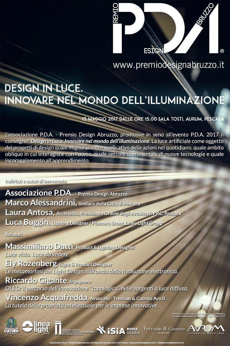Pescara, torna il Premio Design Abruzzo