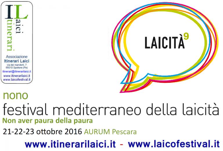 Pescara, Festival mediterraneo della Laicità: ecco il programma
