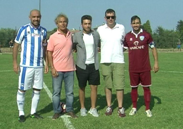 Pescara-San Nicolò 3-0 nell'amichevole di Cologna. Incasso ai terremotati (FOTO)