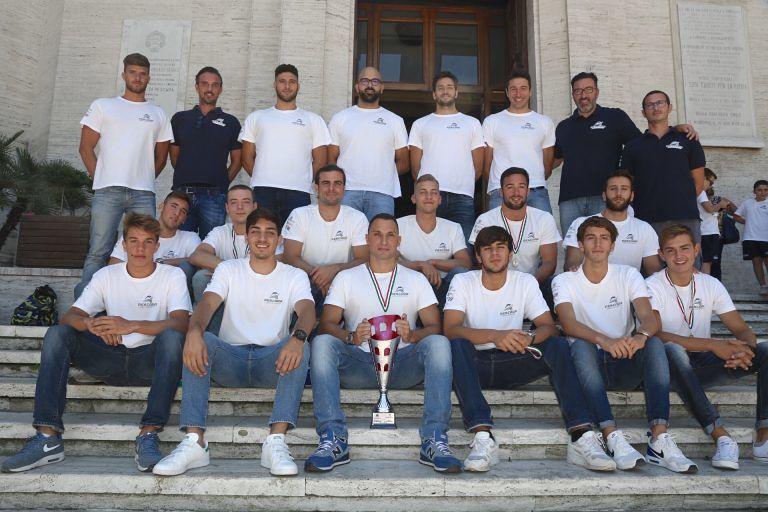 Pallanuoto: il Pescara neo-promosso premiato in Comune