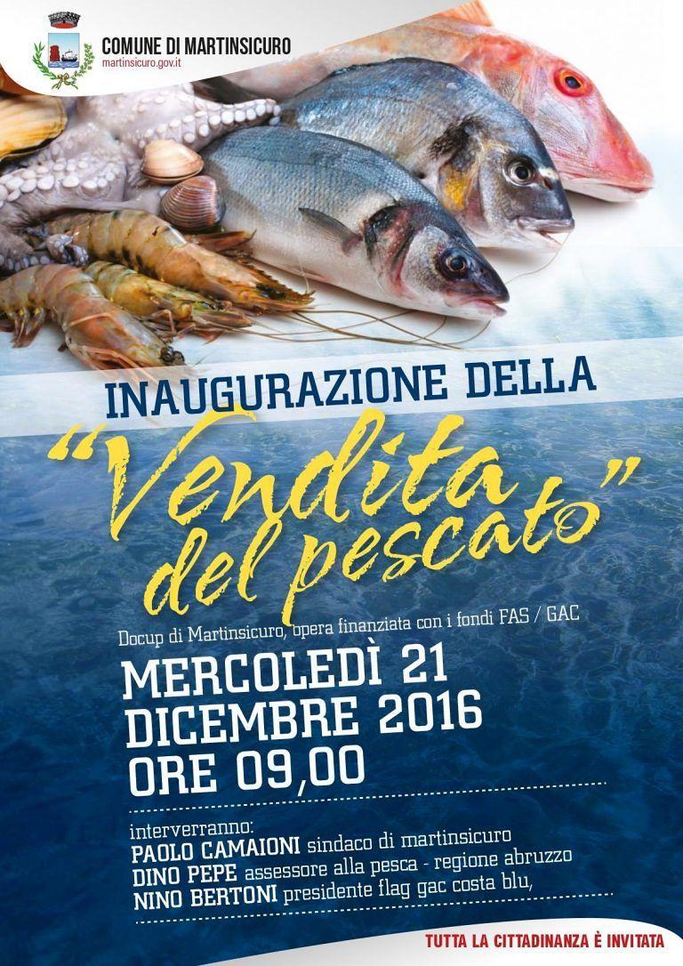 Martinsicuro, vendita del pescato: apre la struttura dedicata alla marineria