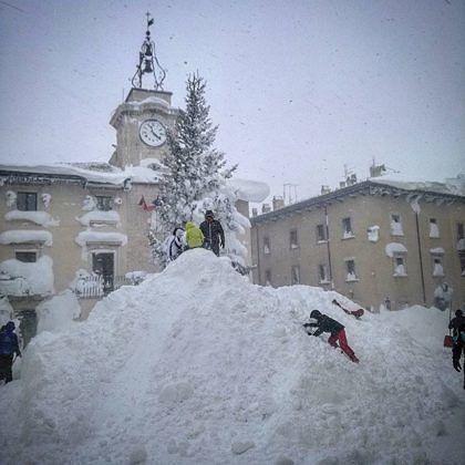Provincia L'Aquila, i dati sull'emergenza maltempo