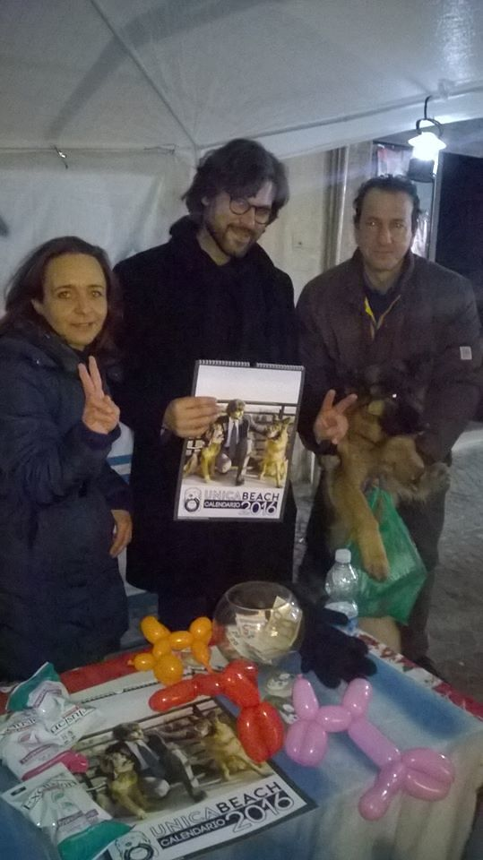 Giulianova, Unica Beach porta i cani nel reparto di pediatria dell'Aquila