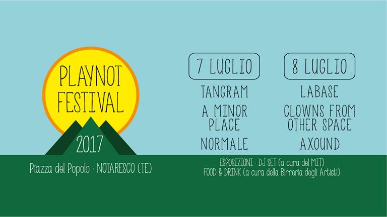 PlayNot Festival, i migliori gruppi emergenti in scena a Notaresco