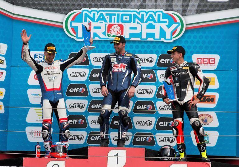 Moto, doppio podio al Campionato Italiano di Imola per Federico D'Annunzio