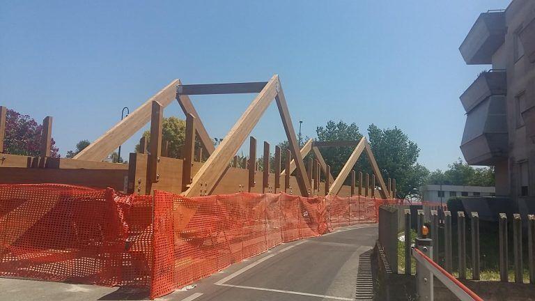 Alba Adriatica-Villa Rosa: ecco il nuovo ponte sul Vibrata