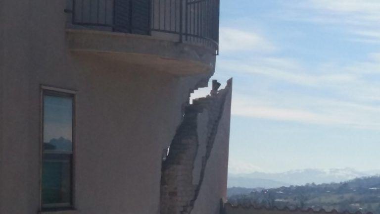 Frana di Ponzano, le abitazioni danneggiate saranno ricostruite: l'emendamento