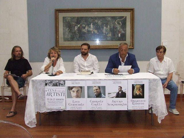 Francavilla, torna 'A cena con gli artisti' VIDEO