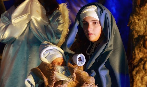 Rivisondoli, una Madonnina lancianese per il Presepe Vivente