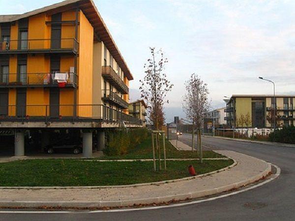 L'Aquila, area di evacuazione e accoglienza a Paganica