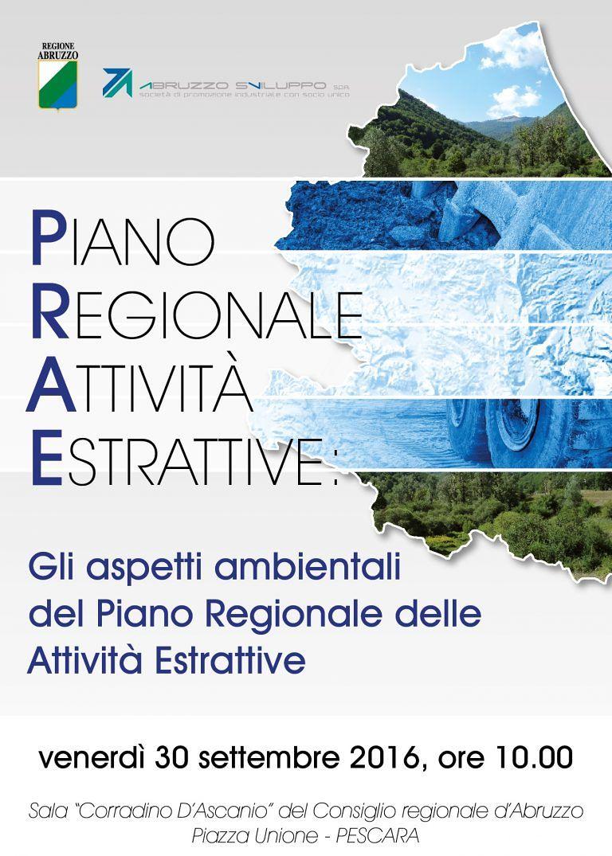 Regione Abruzzo, al via il seminario sulle Attività estrattive