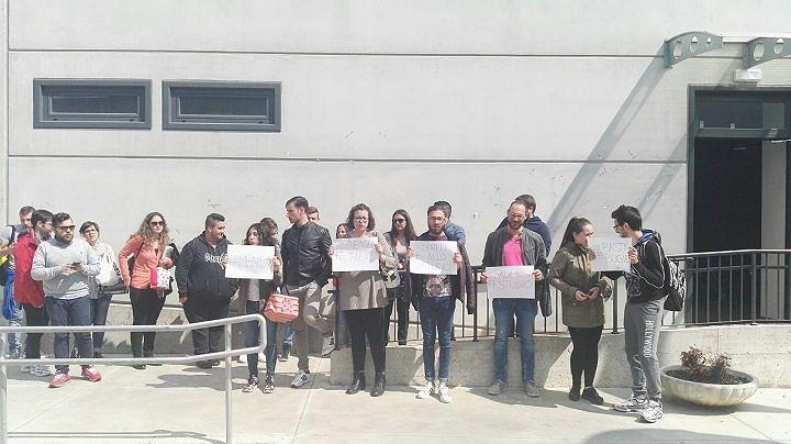 Università L'Aquila, monta la protesta della facoltà di Economia (FOTO)