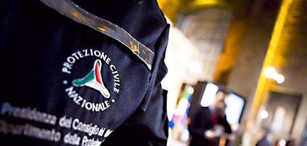 Frana di Cermignano: sopralluogo della Protezione Civile. Statale 81 ancora chiusa