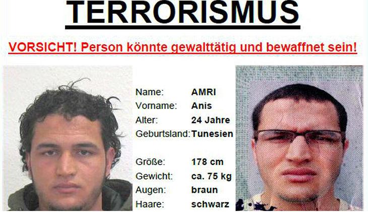 Berlino, taglia di 100.000€ sul presunto autore della strage