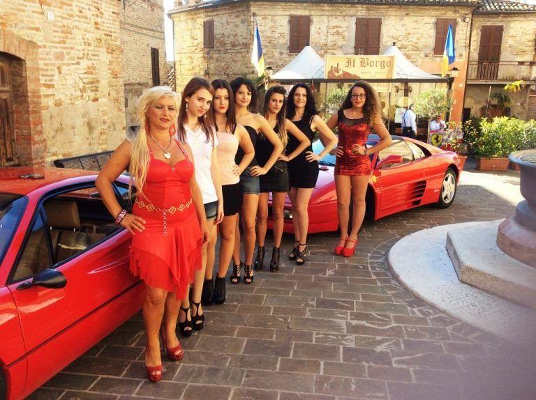 """Club Ferrari Villa Rosa si """"raduna"""" a Campofilone"""