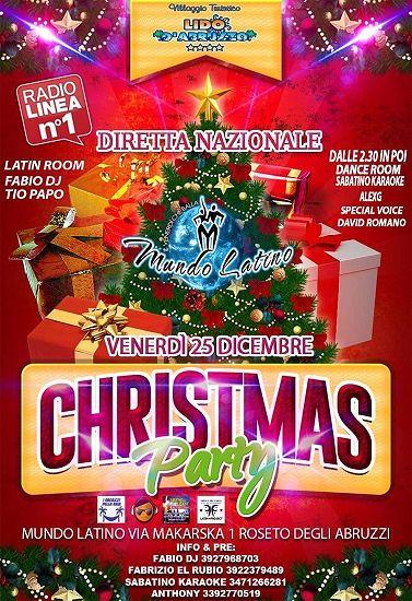 Christmas Party con I ragazzi della Baia e Sabatino Karaoke al Lido D'Abruzzo | Roseto