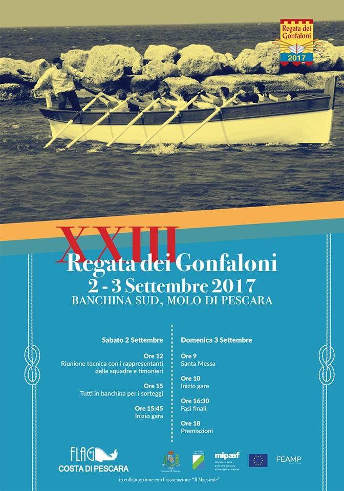 Pescara: torna la Regata dei Gonfaloni, in memoria di Verzulli