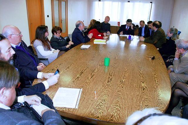 Biblioteca De Meis, D'Alfonso riceve il Comitato cittadino