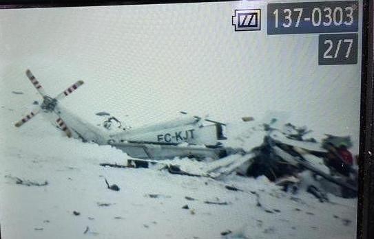 Campo Felice, elicottero caduto: recuperata 'scatola nera'