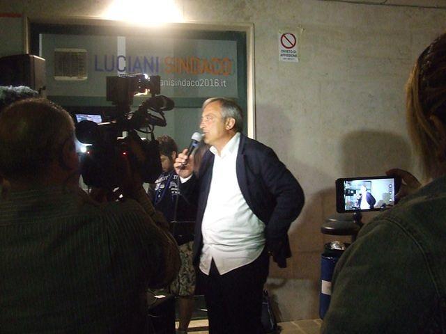 Elezioni Francavilla, rieletto Luciani
