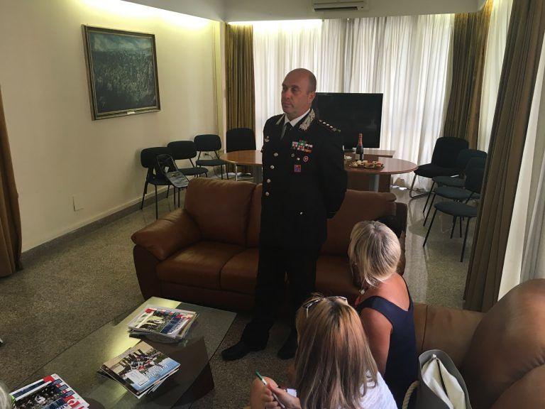 """Teramo, il colonnello Romano saluta la provincia: """"Arresti raddoppiati"""""""