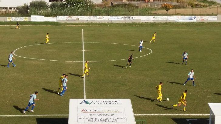 Promozione, Sant'Omero-Balsorano 2-0: apre Nardini, chiude D'Ignazio