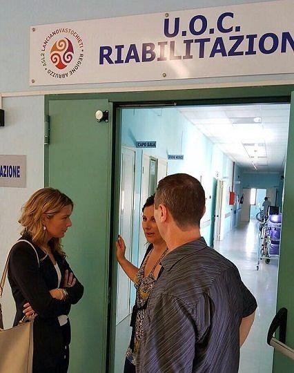 Ospedale Atessa, visita ispettiva della consigliera regionale Marcozzi