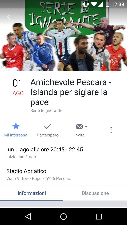 Pescara-Islanda, un'amichevole per festeggiare e 'dimenticare' Birkir