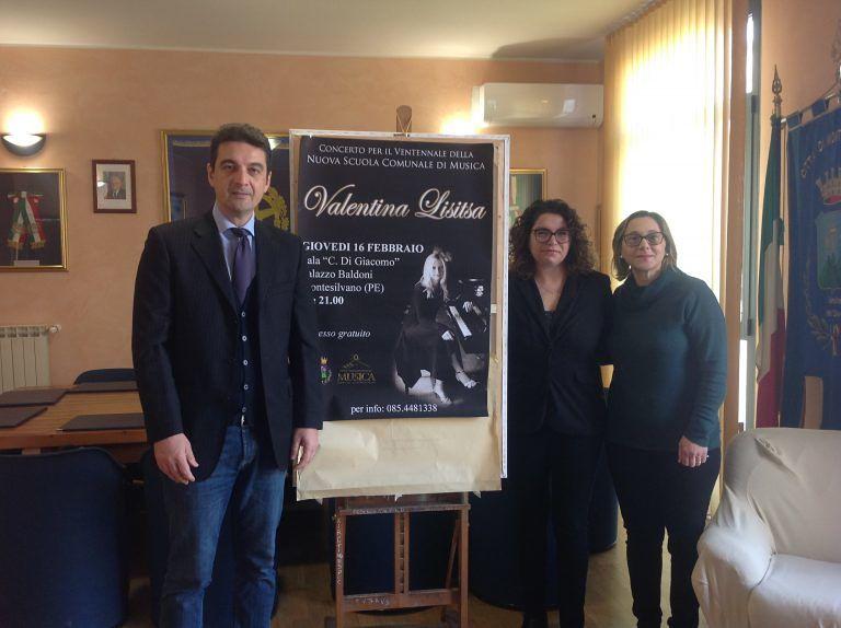 Montesilvano, Valentina Lisitsa inaugura l'anno della Nuova scuola comunale di musica