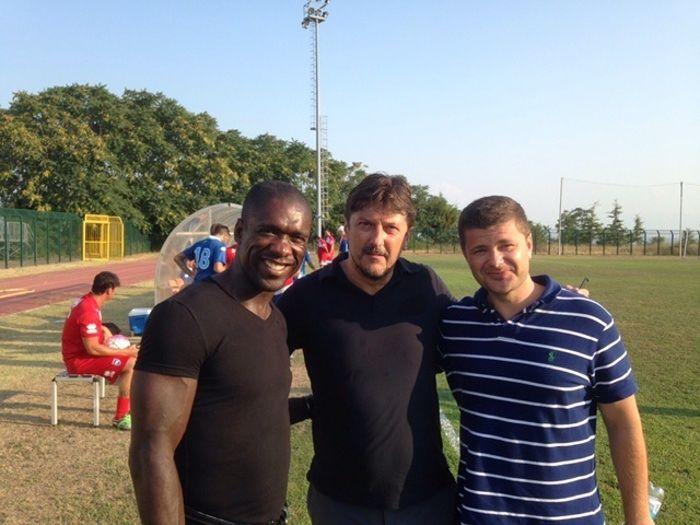Pescara, Seedorf in panchina con Oddo nell'amichevole contro l'Angolana