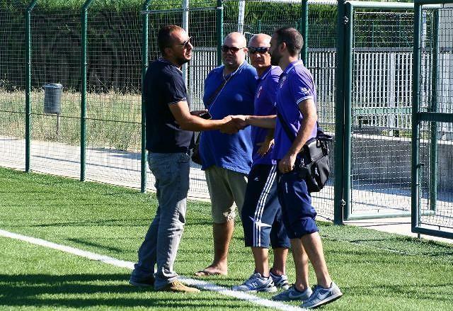 Il sindaco e l'assessore allo Sport di San Giovanni Teatino in visita al Settore Giovanile del Sambuceto Calcio