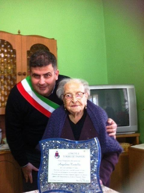 Torre de' Passeri saluta la sua cittadina più anziana: aveva 108 anni