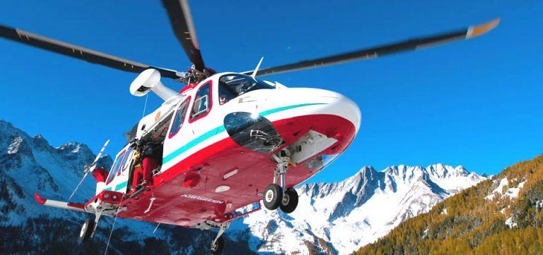 Ovindoli, accusa un malore sul luogo di lavoro: soccorso in elicottero