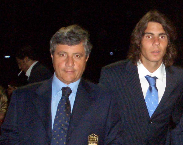 Tennis, stella d'oro per Emilio Sodano dirigente del Ct Tortoreto