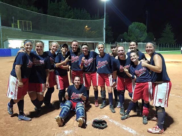 Softball A2: l'Atoms' Chieti batte la capolista e festeggia il terzo posto