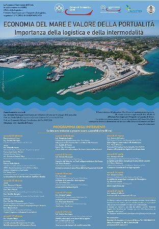 Ortona: corso Economia del mare, portualità e logistica integrata