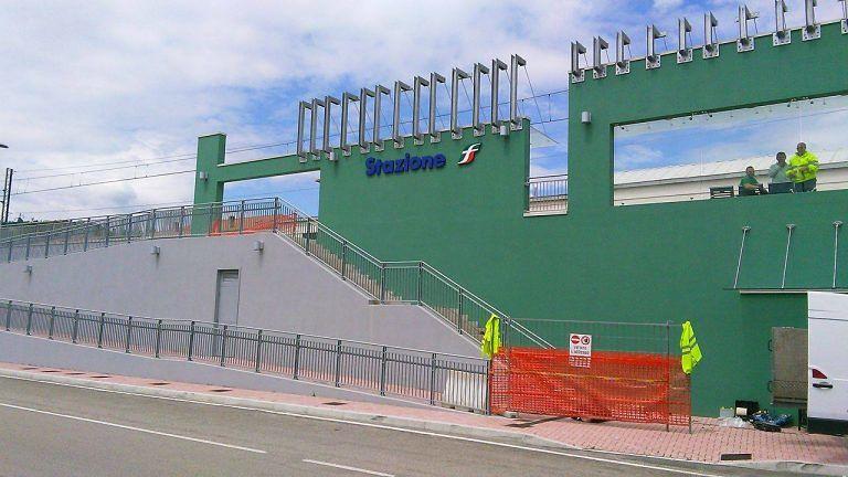 Teramo, apre la nuova stazione Piano d'Accio-Nepezzano