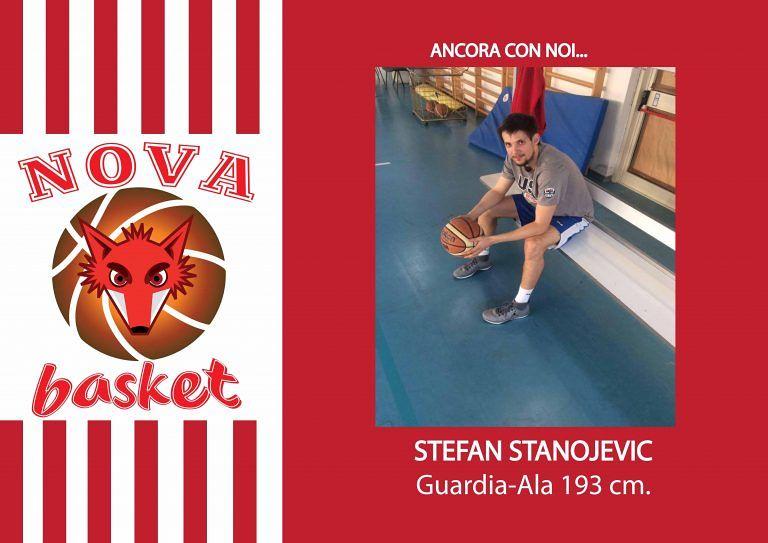 Basket, Nova Campli: conferma per Stanojevic
