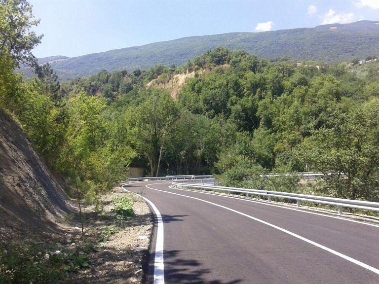 Riaperta dopo 5 anni la strada per Carpineto