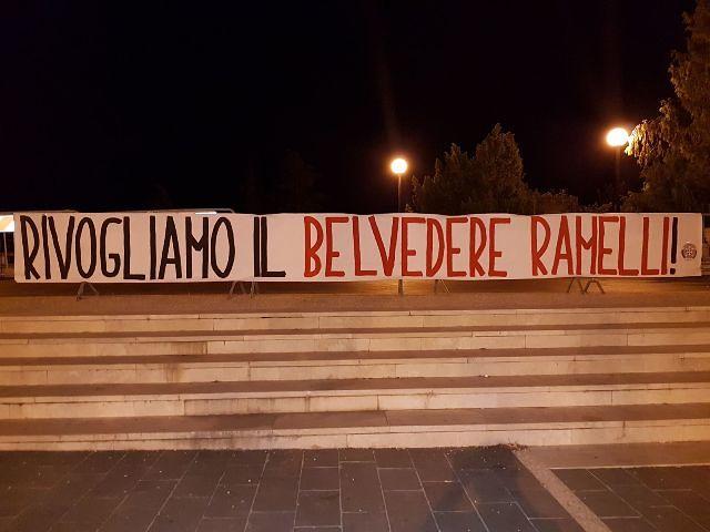 Chieti, CasaPound Italia attacca l'amministrazione sul belvedere Ramelli