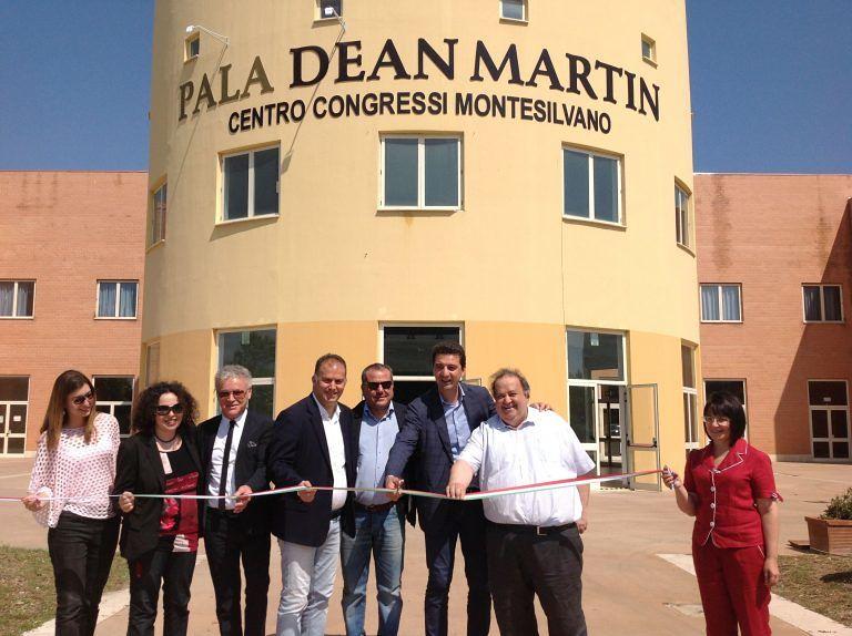 Montesilvano, Pala Congressi intitolato a Dean Martin: cerimonia e programma eventi